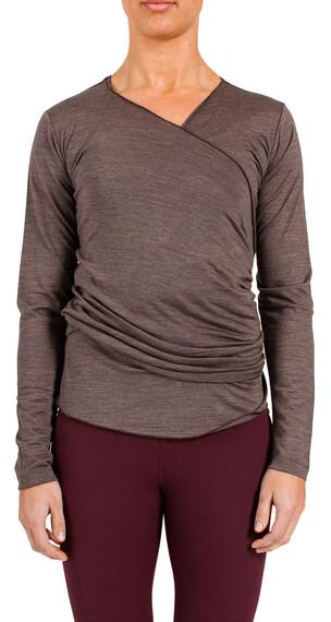 YogiYogini Sweden W's Twist Sweater Earth Brown